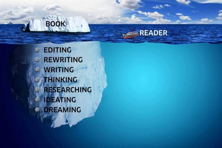 writing iceberg