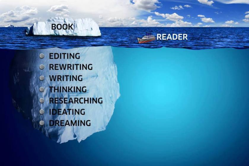 writing iceberg