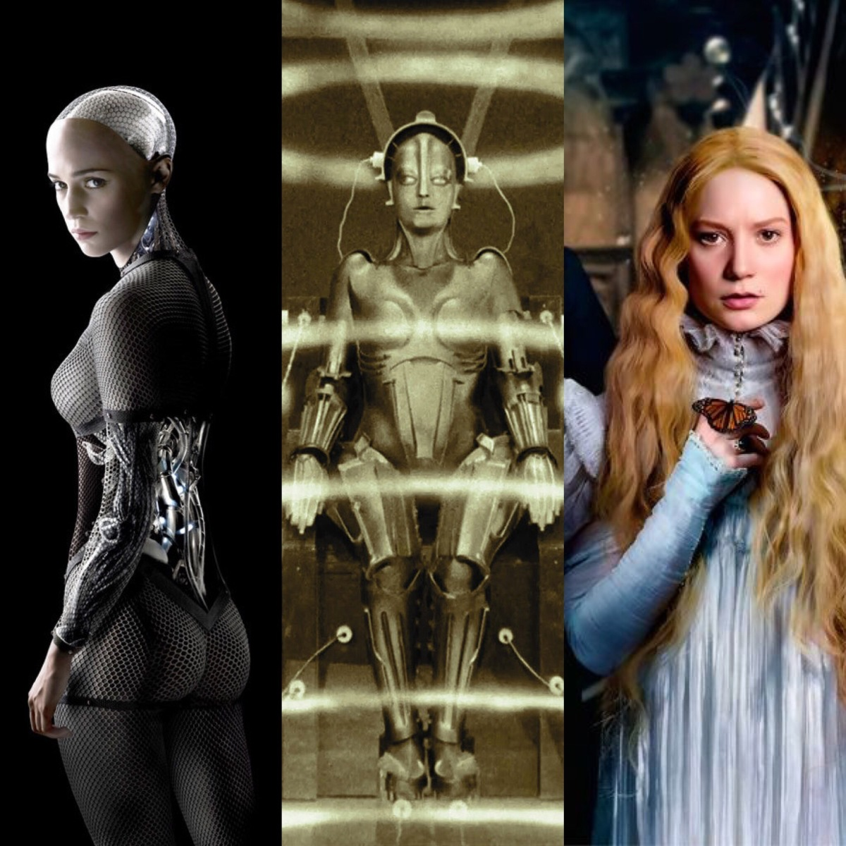 Feminine horror and Ex Machina